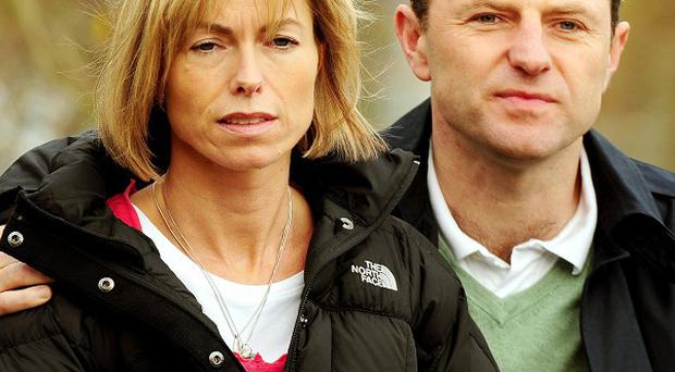 Kate and Gerry McCann have been haunted by visions of their missing daughter Madeleine