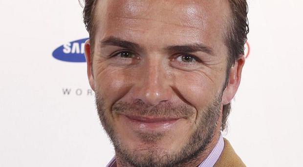 David Beckham was involved in a car accident on one of the busiest roads in Los Angeles