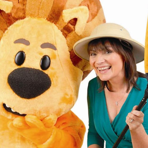 Lorraine Kelly is to narrate kid's TV show, Raa Raa The Noisy Lion, a new CBeebies series (Chapman Entertainment)