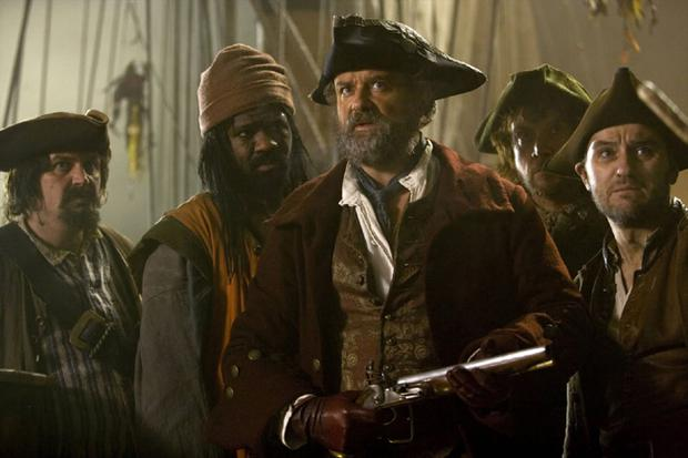 Doctor Who: A 17th century pirate ship is being haunted by a creature that is marking the crew for death if they shed a single drop of blood