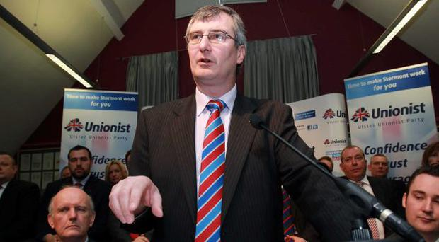 Ulster Unionist Party leader Tom Elliott