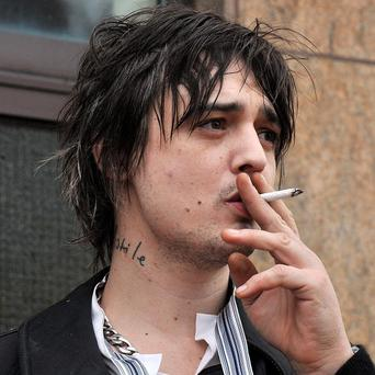 Pete Doherty denies any wrongdoing over the death of an actor injured at a party in east London in 2006