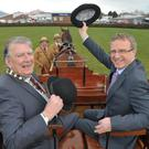 Robin Morrow with Ian Jordan, Ulster Bank's Head of Business and commercial banking