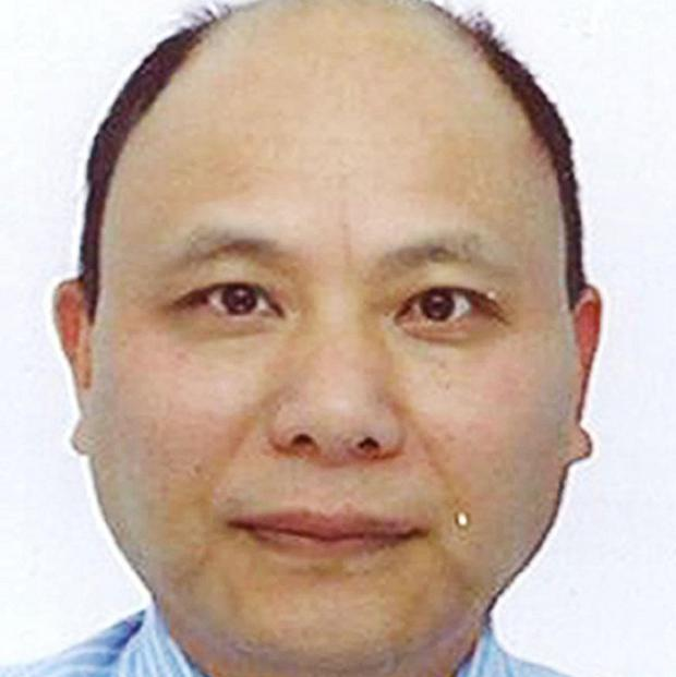 Anxiang Du has been named as a suspect in the murders of university lecturer Jifeng Ding and his family