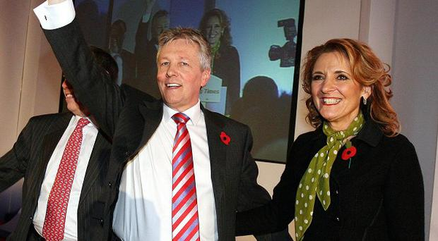 Peter Robinson believes it will not be long before his wife Iris is again at his side for public appearances