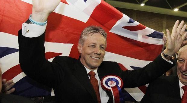 DUP leader Peter Robinson dedicated his election success to Ronan Kerr, who was murdered as the campaign got under way