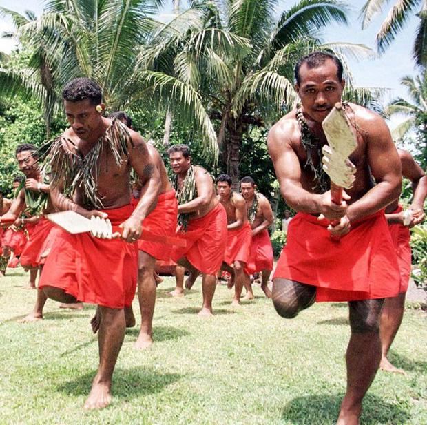 The island nation of Samoa will jump forward in time by one day (PA)