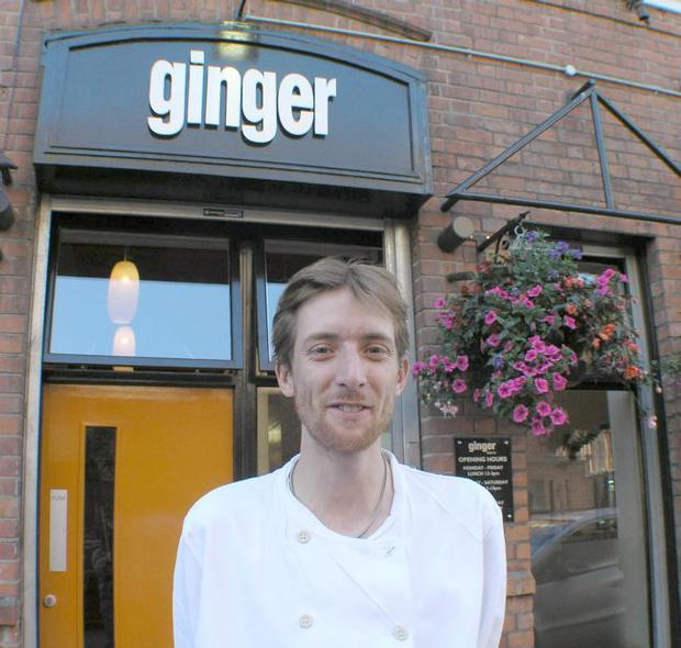 Simon McCance, owner/chef of Ginger Restaurant