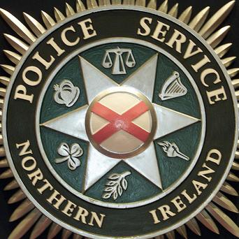 A grenade has been thrown at police officers in the Creggan area of Londonderry