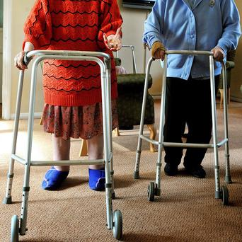 A massive increase in the need for care home places is looming because of the rising numbers of over-85s, academics warned