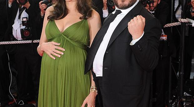 Jack Black told the world Angelina Jolie was expecting twins