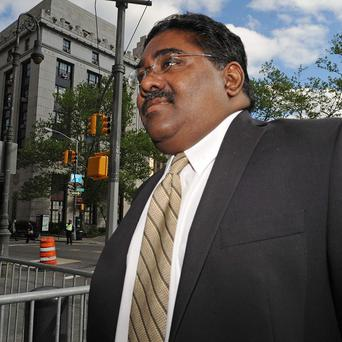 Raj Rajaratnam, billionaire co- founder of Galleon Group, who has been convicted of insider trading(AP)