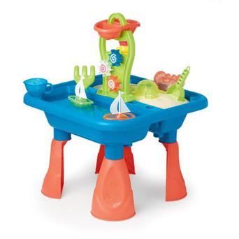 <b>1. Marks and Spencer</b><br/> If there's two things kids love playing with outside, it's sand and water. This table has room for both and comes with spinning wheels, waterfalls and scoops. <br/> <b>Price:</b> £39.50, Marksandspencer.com