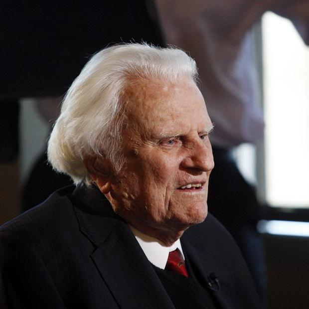 The Rev Billy Graham has been released from hospital (AP)