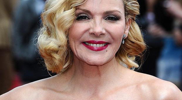 Sex And The City star Kim Cattrall was given a GLAAD award