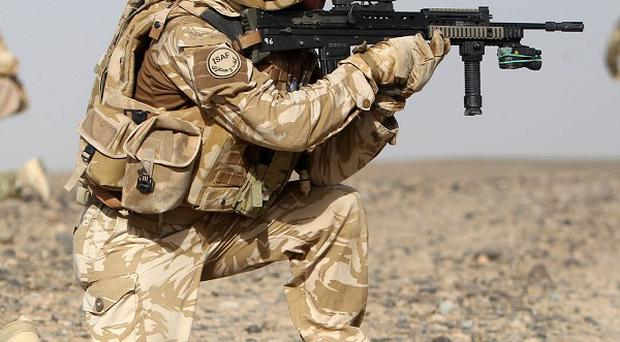 The armed forces is facing a further wave of cuts in the next financial year