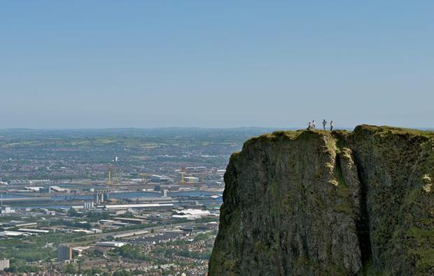 My name is Matthew Humphreys, age 37, and I wish to submit this photograph which I took on Saturday the 19th of June 2010. It is a shot of Cavehill Mountain with Belfast city in the background. For me, what makes it so special, is that it is a place to escape to for some peace and quiet. We live in a more busier and frantic world nowadays and Cavehill Mountain for me, ticks all the boxes for when you want time to yourself to think and regroup.