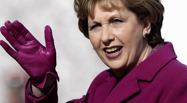 President Mary McAleese