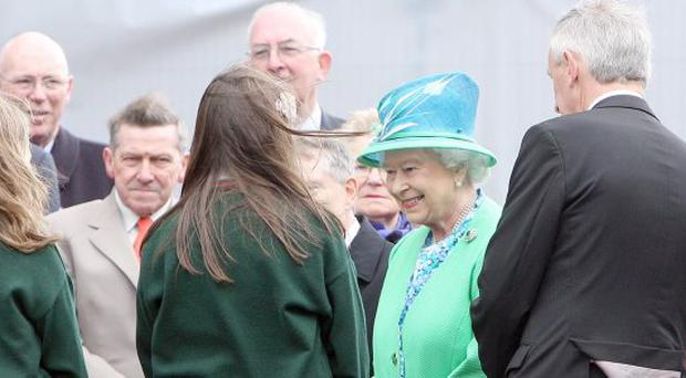 The Queen and the Duke of Edinburgh Cashel, Co.Tipperary.