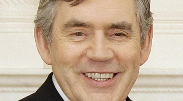 Gordon Brown insisted he is not seeking the top job at the IMF