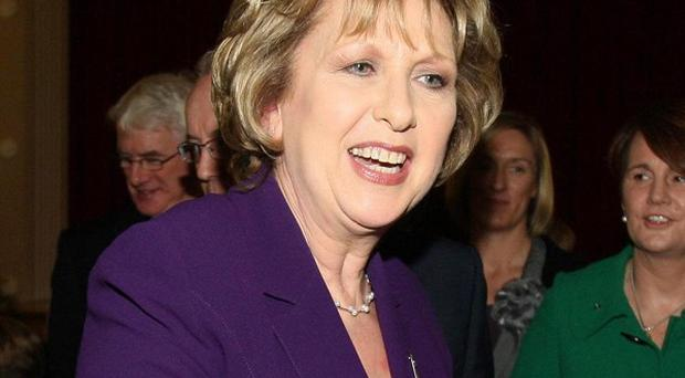 President of Ireland Mary McAleese