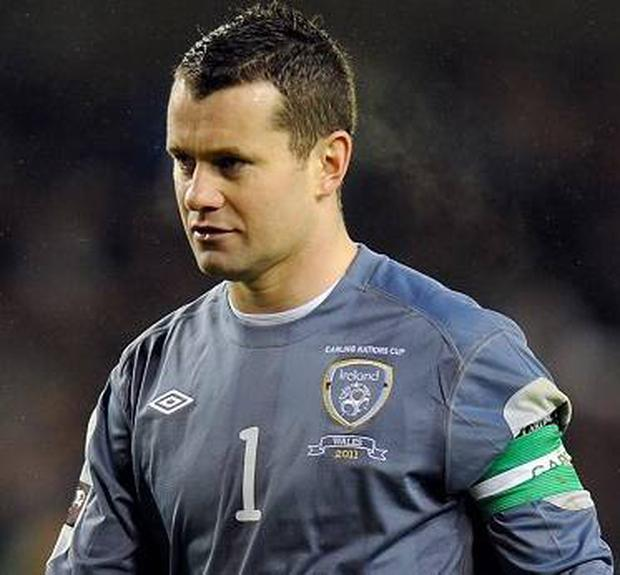 <b>6 - Shay Given</b><br/> A virtual spectator in the first half as all the action was at the other end. Taken off in the 72nd minute to alleviate his boredom.