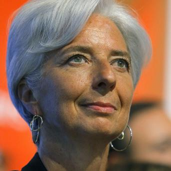 French Finance and Economy Minister Christine Lagarde who wants to be the next leader of the IMF(AP)