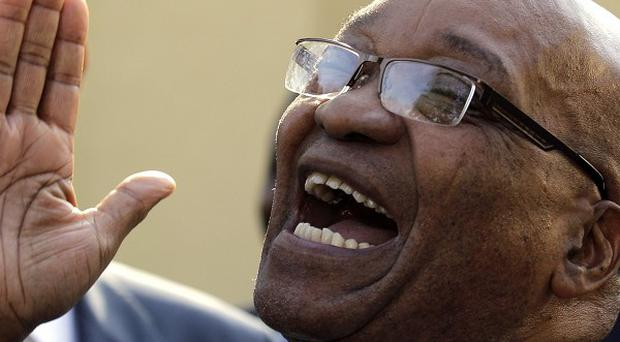 South Africa's President Jacob Zuma is hoping to help reach an end to the fighting in Libya(AP)