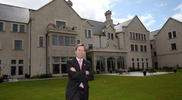 Jonathon Stapleton general manager of Lough Erne Resort
