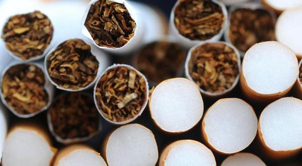 The cigarettes were on board a freight that had travelled from China via Holland