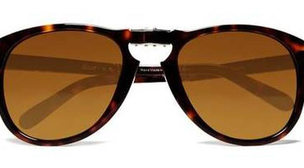 <b>Persol</b><br/> Persol's sunglasses are beautifully crafted and elegantly designed. This Steve McQueen tortoiseshell pair are a timeless buy, and they fold up, making them practical too.<br/> <b>Where</b> www.mrporter.com <br/> <b>How much</b> £235
