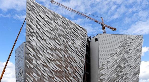 Belfast's newest building will sit at the heart of a redeveloped Titanic Quarter