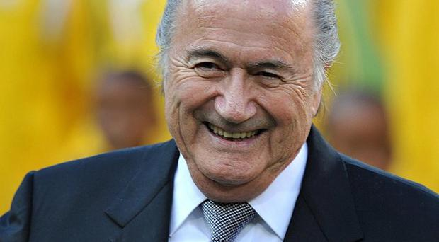 Fifa president Sepp Blatter has insisted football is not in crisis