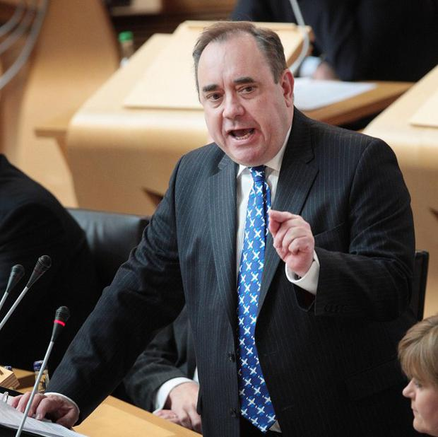 Taxing times: Scottish First Minister Alex Salmond