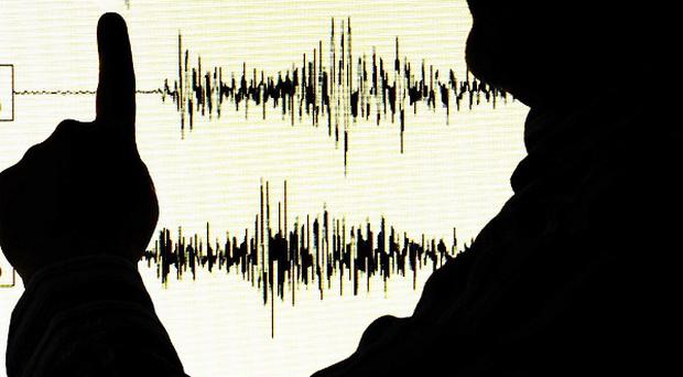 A magnitude-6.4 earthquake has struck just off the shore of central Chile, according to US monitors