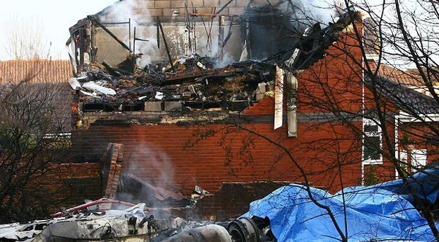 Five people died when their private jet crashed into a house in Farnborough