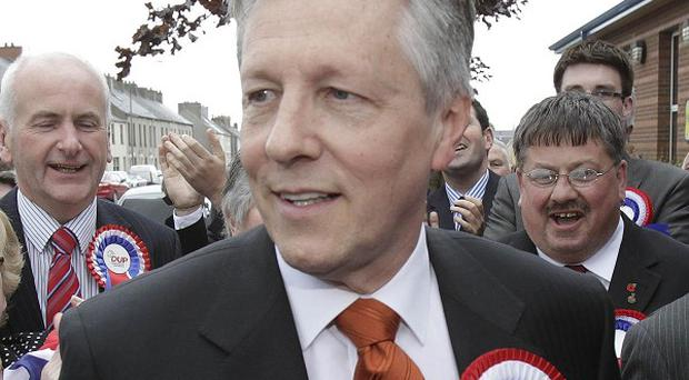 DUP leader Peter Robinson