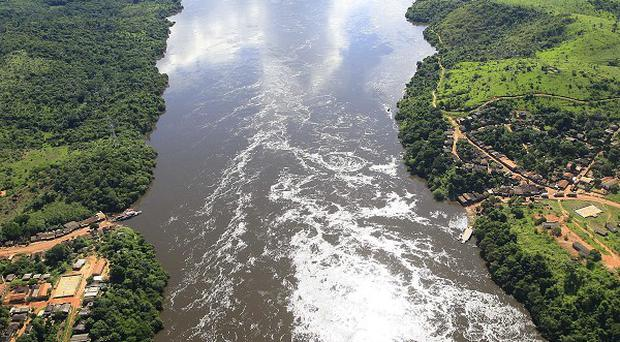 The site where the Belo Monte dam will be built, in Para, northern Brazil (AP)