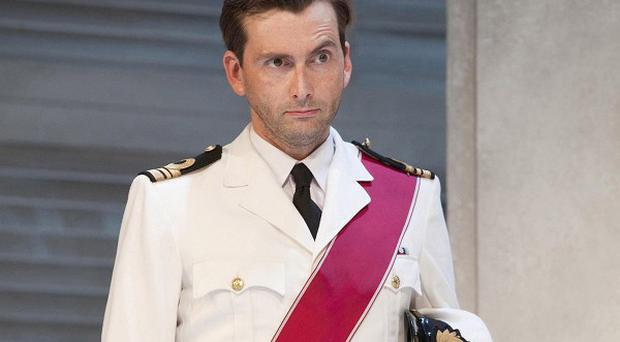 David Tennant set pulses racing in Much Ado About Nothing