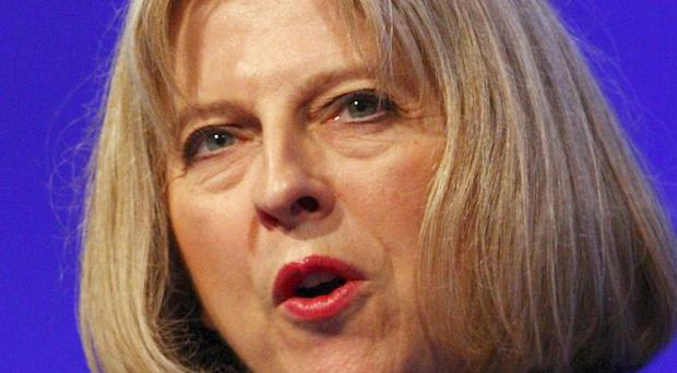 Home Secretary Theresa May has said anybody convicted of possessing a knife should expect to be sent to prison