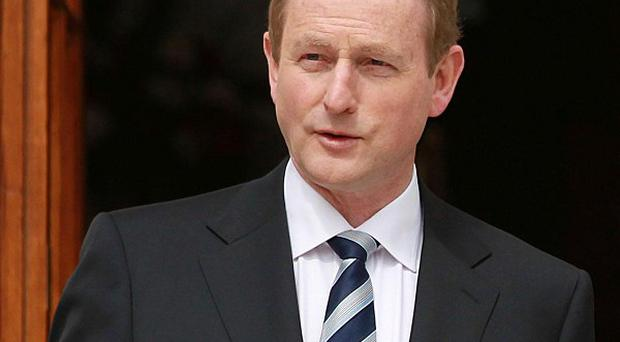 Taoiseach Enda Kenny suggested a household tax had been agreed by Fine Gael and Labour