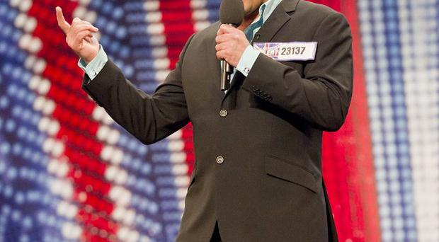 Les Gibson is through to the Britain's Got Talent final