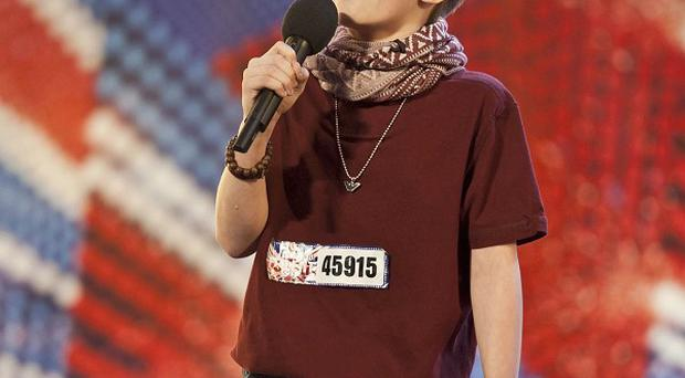 Ronan Parke is seen as a hot favourite on Britain's Got Talent