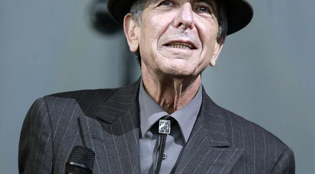 Leonard Cohen is known for his songs Suzanne and So Long, Marianne