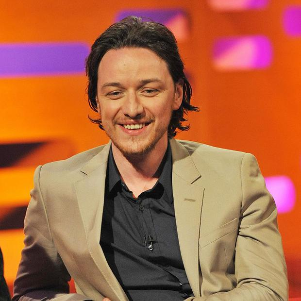 James McAvoy has a special technique for crying on set