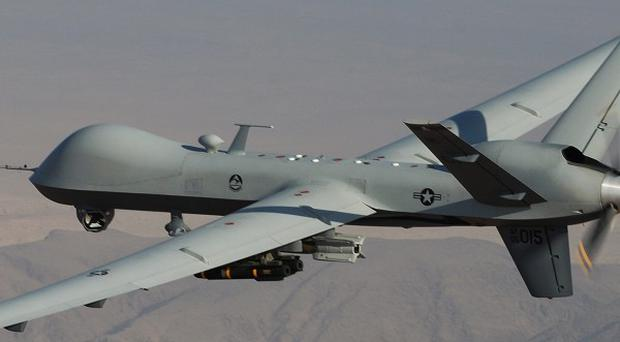 A US drone-fired missile was targeting top al Qaida militant leader Ilyas Kashmiri, an official said