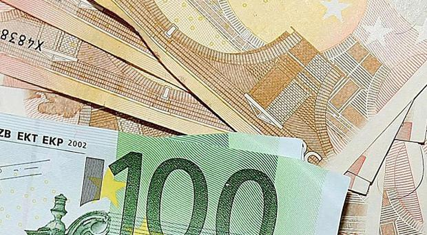 Ireland is now more than 10 billion euro in the red, the Department of Finance has revealed