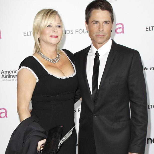 Rob Lowe and wife Sheryl Berkoff have been married for two decades