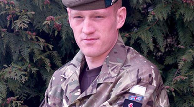 Corporal Michael Pike, The Highlanders, 4th Battalion, The Royal Regiment of Scotland, who was killed in Afghanistan on Friday