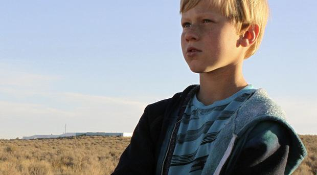 Bobby Bradley, nine, is set to become the youngest trained pilot to fly solo in a hot air balloon (AP)